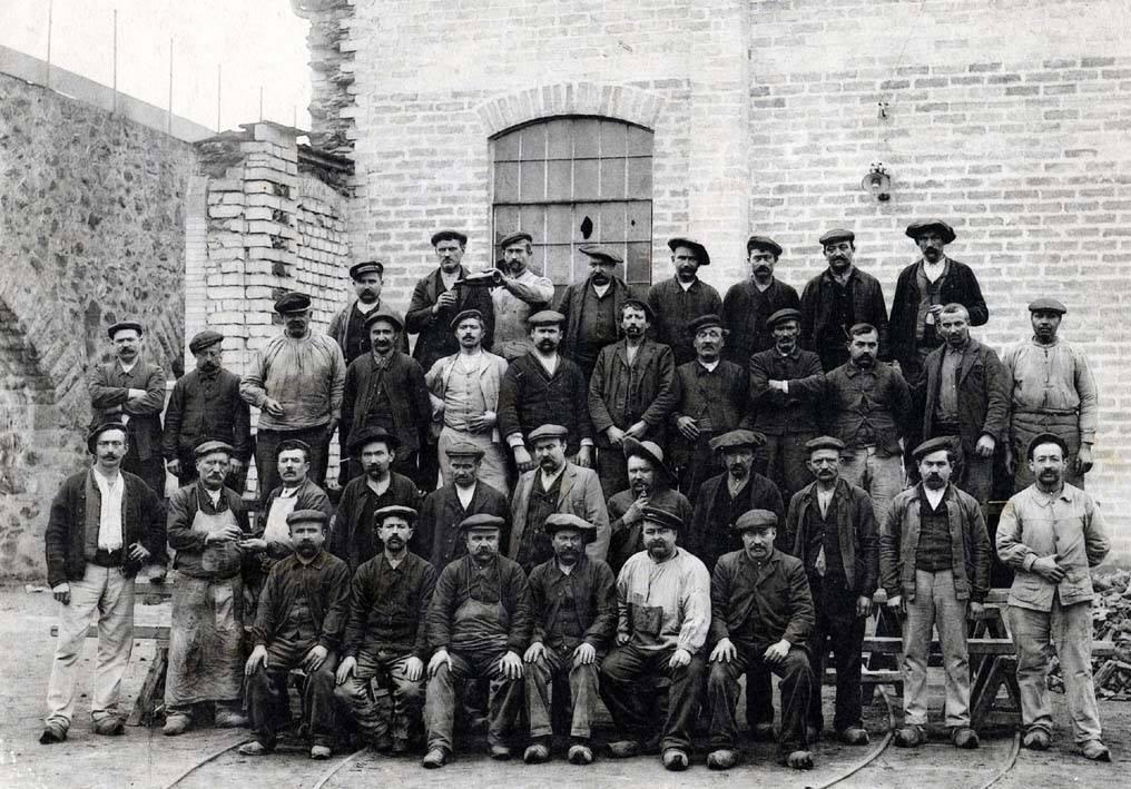 Ouvriers des aciéries du Saut du Tarn