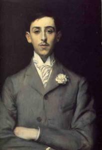 Le jeune Maurice Barrès