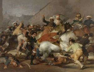 El dos de mayo de 1808 en Madrid, de Goya