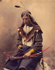 Un Indien Cherokee
