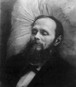 Dostoïevski sur son lit de mort