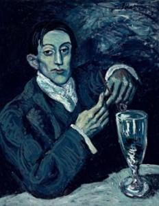 """""""Le buveur d'absinthe"""", Pablo Picasso"""