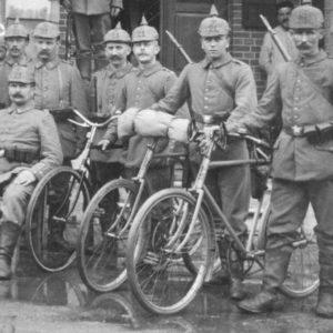 soldats allemands en 1914
