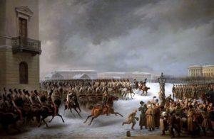 """""""la révolte des décembristes"""" par Vasili Timm"""
