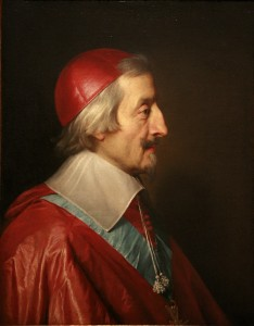 le Cardinal de Richelieu, fondateur de l'Académie