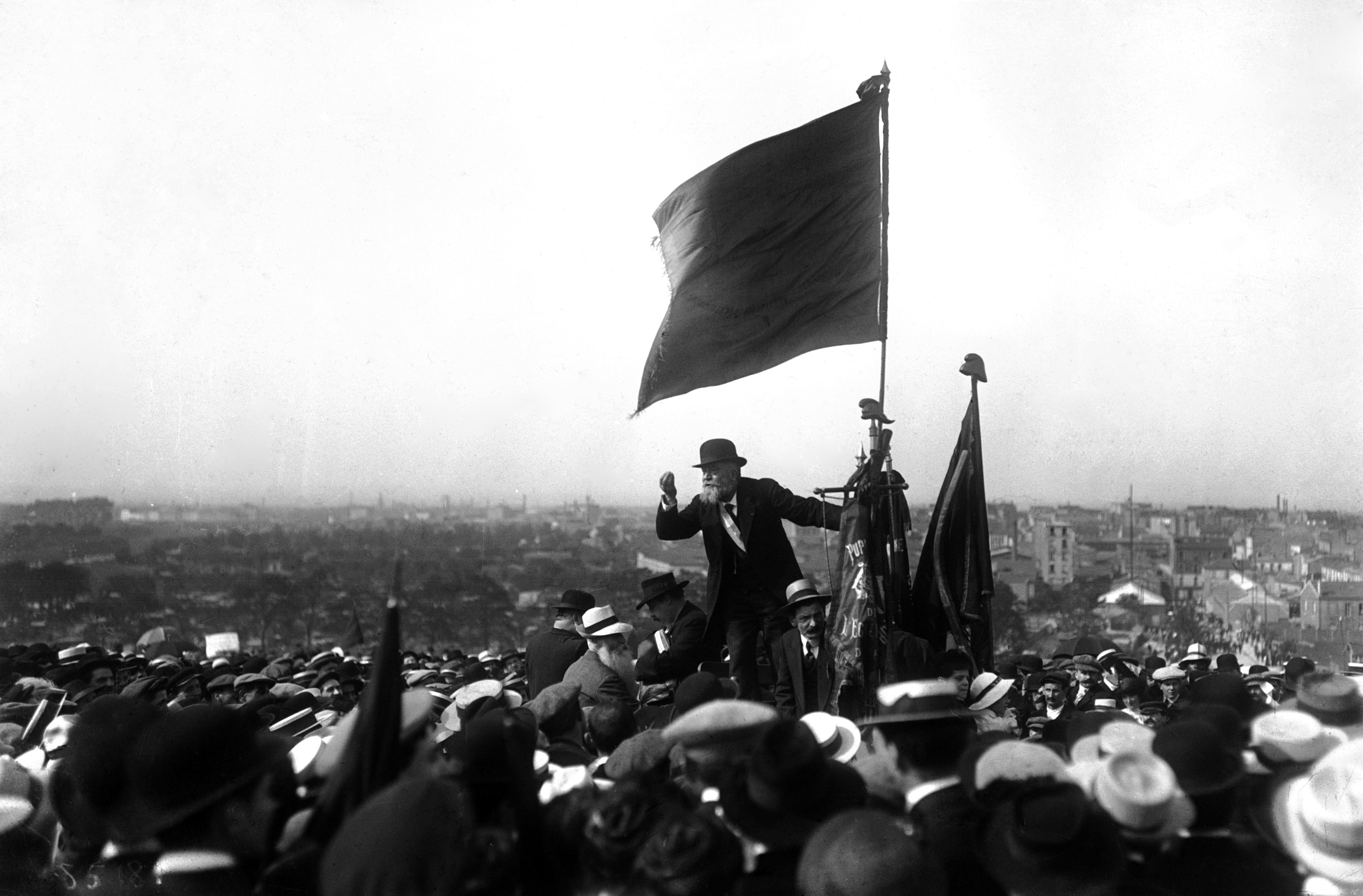 discours de Jaurès le 25 mai 1913 au Pré-Saint-Gervais