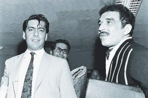 Garcia Marquez et Vargas Llosa