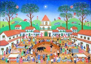 """Roman Roncancio """"Village espagnol"""""""