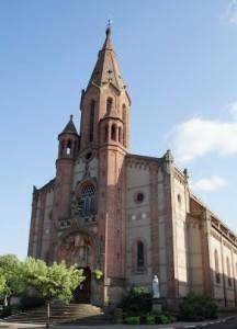 L'église Saint Privat de Carmaux