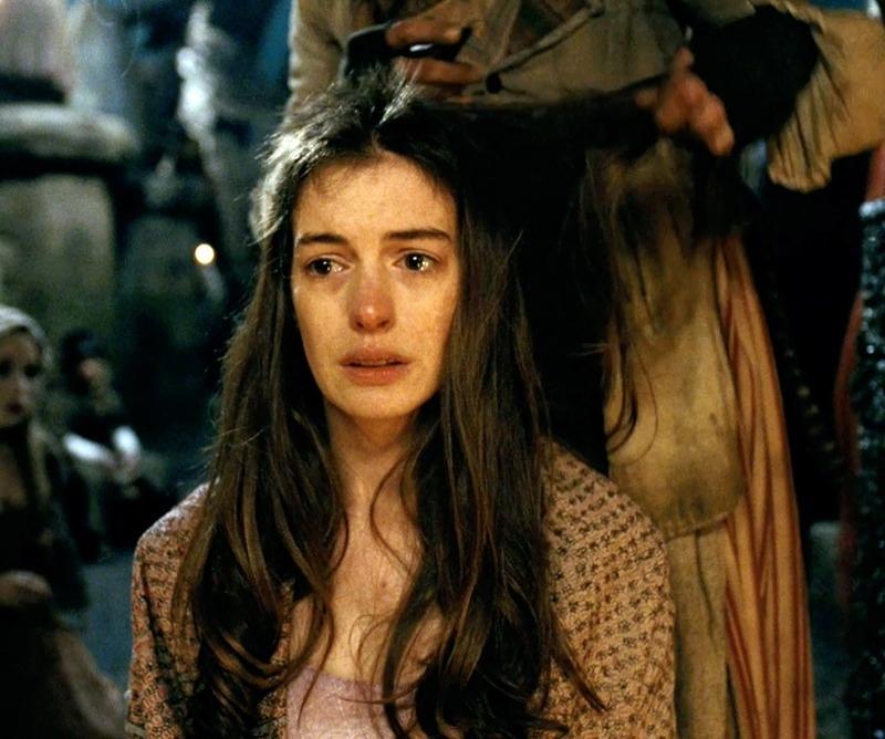 Anne Hathaway Stars As Fantine In: La Fantine D'Hugo Et La Véronique De Bloy : Incarnations