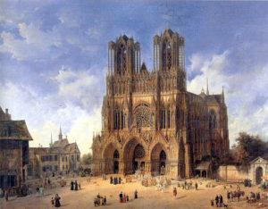 Domenico_Quaglio_(1787_-_1837),_Die_Kathedrale_von_Reims