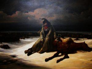 Bernard Edouard Swebach - Retraite de Russie
