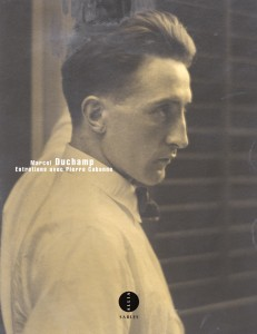 Le livre Entretiens avec Pierre Cabanne, composé d'interviews de Marcel Duchamp