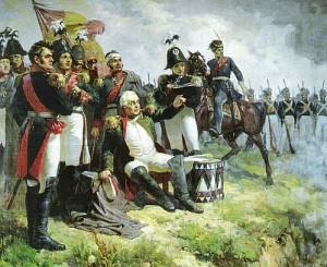 Koutouzov à la bataille de Borodino