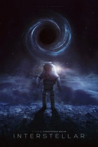 L'affiche américaine de Interstellar