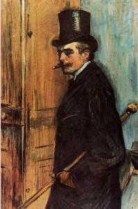 Une oeuvre de Toulouse-Lautrec fréquemment assimilée à Bel-Ami