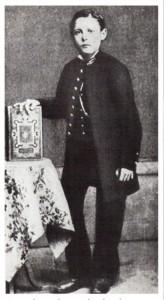 le jeune Péguy en 1885
