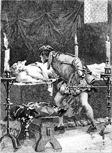 """""""L'Élixir de longue vie"""", illustration d'Édouard Toudouze."""