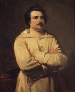 Honoré de Balzac, par Louis Boulanger
