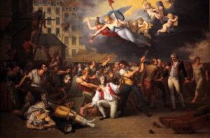 Vengeance populaire après la prise de la Bastille