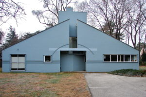 Maison Vanna Venturi, par R. Venturi (Philadelphie)