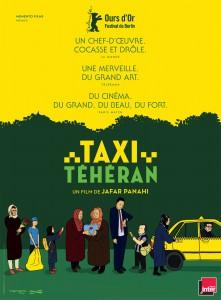 L'affiche de Taxi Téhéran