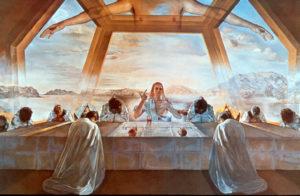 """La dernière cène"", Salvador Dali"