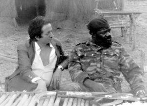 Dominique de Roux et Jonas Savimbi