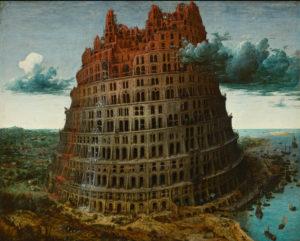 """""""La Tour de Babel"""", Brueghel l'Ancien, 1563"""