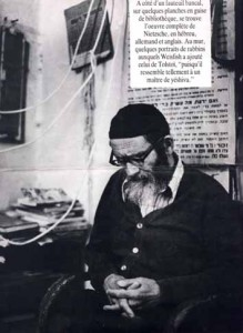 Reb Arieh Leib Weisfish. Photo de Yoram Lehmann