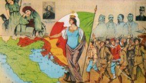 """""""L'Italie irrédente"""", manuel d'Histoire de l'époque mussolinienne"""