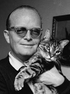 Truman Capote et son chat