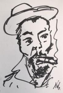 Che Guevara, par Marc-Édouard Nabe, 2013