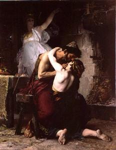 La reconnaissance d'Ulysse et de Télémaque, Henri-Lucien Doucet (1880)