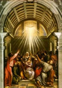 La descente du Saint-Esprit de Titien