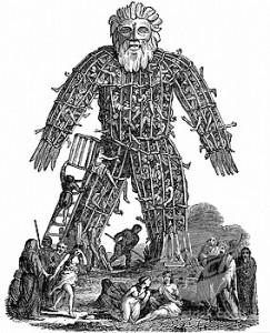 L'homme d'osier, une tradition celte
