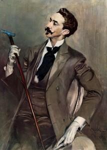 Robert de Montesquiou qui inspira Proust pour son personnage de Charlus