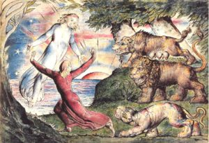 """L'Enfer de Dante"", William Blake (1826)"