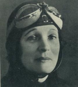Portrait de Marthe Richard, surnommée « la veuve qui clôt »