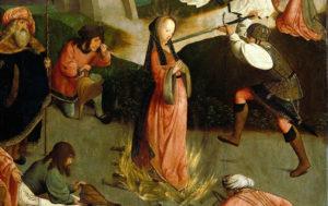 """""""Le martyre de Sainte Lucie"""", auteur inconnu"""