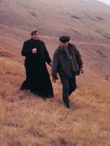 Depardieu en abbé Donissan dans Sous le soleil de Satan