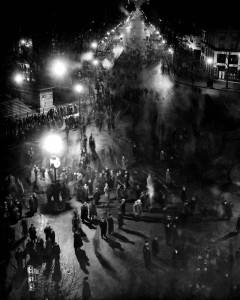 Paris durant la nuit du 6 février 1934