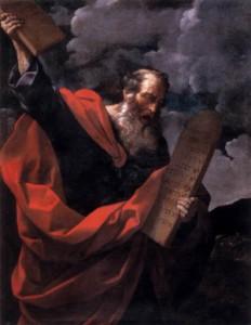 Guido Reni, Moïse et les Tables de la Loi