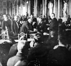 Signature du traité de Versailles