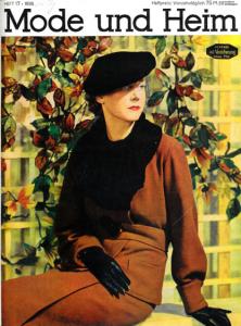 """""""Mode et Foyer"""", couverture d'une édition de 1935"""