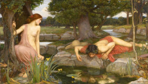 Écho et Narcisse, de John William Waterhouse (1903)