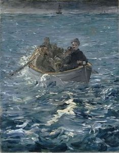 L'évasion de Rochefort par Edouard Manet