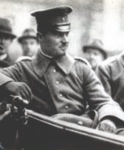 Hermann Ehrhardt, fondateur du plus important Freikorps