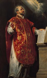 Saint Ignace de Loyola, par Rubens.