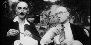 André Gide et François Mauriac (1939)